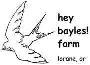 hey bayles! farm
