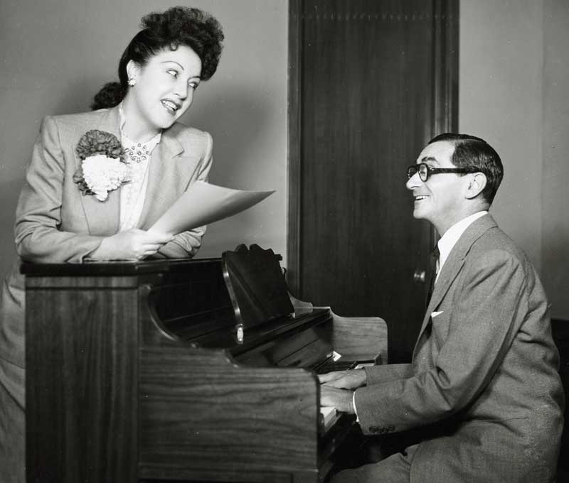 Berlin, Irving 7 - Ethel Merman & Irving Berlin