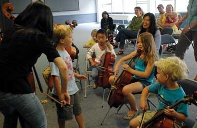 Cello lessons CAN be fun.