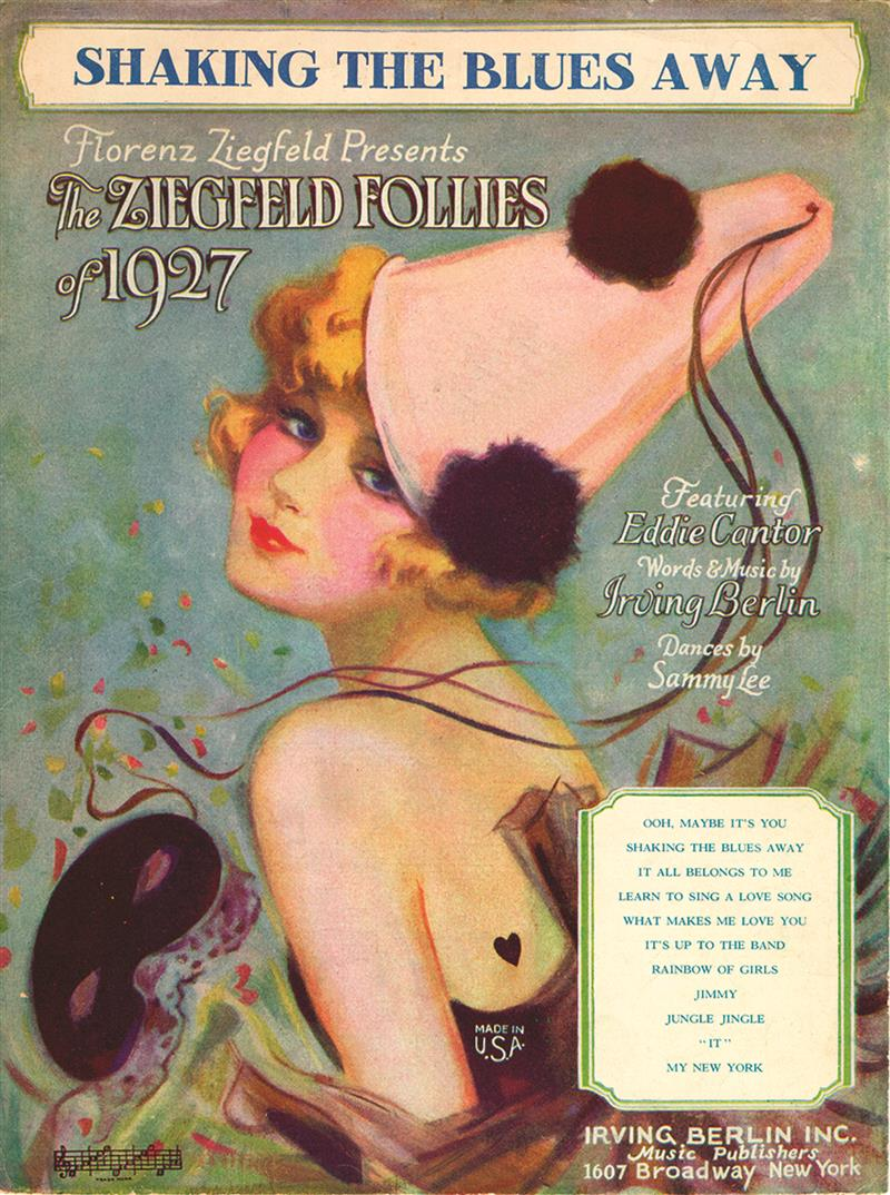 Shaking The Blues Away - Ziegfeld Follies