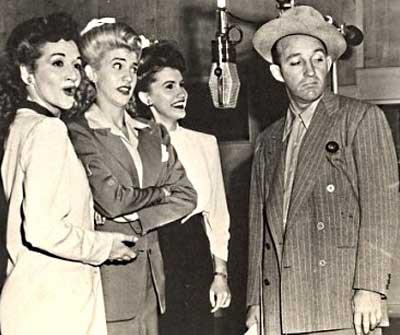 the andrews sisters bing crosby in wwii sat aug 13 2016 the